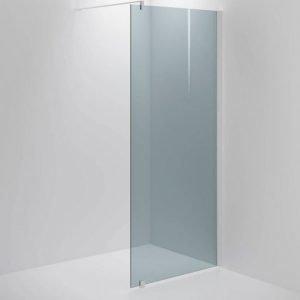 Suihkuseinä Sanka SYNC 31 savu lasi valkoinen profiili 500-900 mm