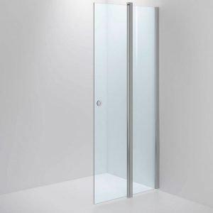 Suihkuseinä Sanka SYNC 33 kirkas lasi kiiltävä profiili 700-1000 mm