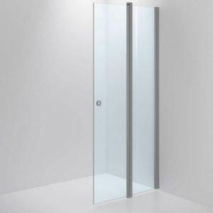 Suihkuseinä Sanka SYNC 33 kirkas lasi mattahopea profiili 700-1000 mm