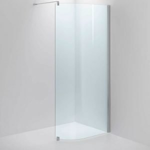 Suihkuseinä Sanka SYNC 34 kirkas lasi kiiltävä profiili 500-700 mm