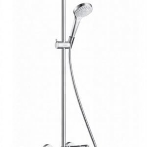 Suihkusetti Croma Select S 180 2jet Showerpipe juoksuputkella (27351400)