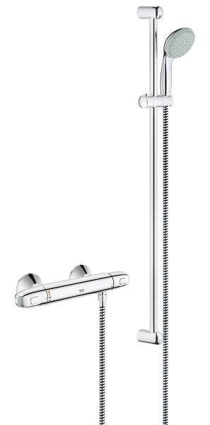 Suihkusetti Grohe Grohtherm 1000 New 900mm kromi (34256003)