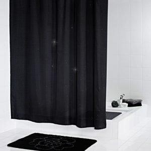 Suihkuverho Ridder Diamond 180x200 cm tekstiili