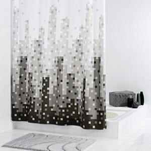 Suihkuverho Ridder Skyline 180x200 cm tekstiili