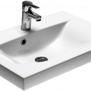 Tasoallas Gustavsberg Logic 5169 CeramicPlus 620 mm valkoinen