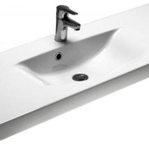 Tasoallas Gustavsberg Logic 5188 CeramicPlus 1220 mm valkoinen