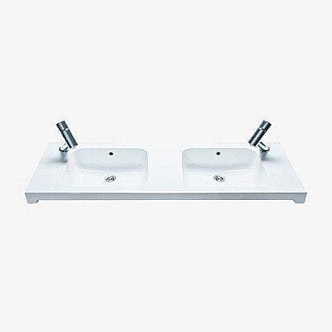 Tasoallas IDO Seven D 11125 1200x400x170 mm valkoinen 2 allasta