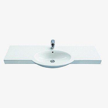 Tasoallas IDO Shape 11196 1200x330/435x180 mm valkoinen