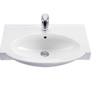 Tasoallas IDO Shape 11199 600x330/435x180 mm valkoinen