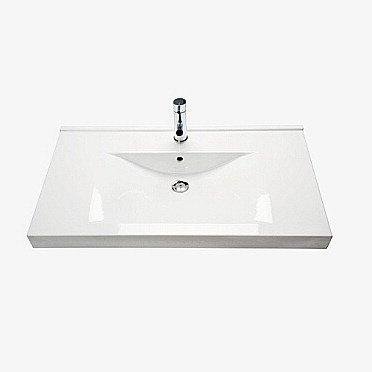 Tasoallas IDO Wave 92045 900x500x150 mm valkoinen symmetrinen