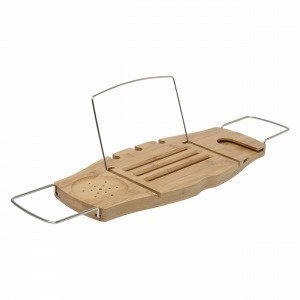 Umbra Aquala Bathtub Caddy Kylpyammeteline Puu 21x71 Cm