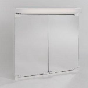 Valaisinpeilikaappi Polaria VPK 550 VVS vikavirtasuojalla oikea valkoinen