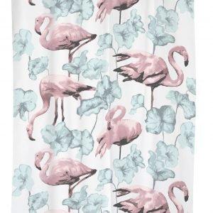 Vallila Flamingot Suihkuverho Pastelli