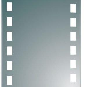 Valopeili Aqualine 60x80 cm LED-valaisimella