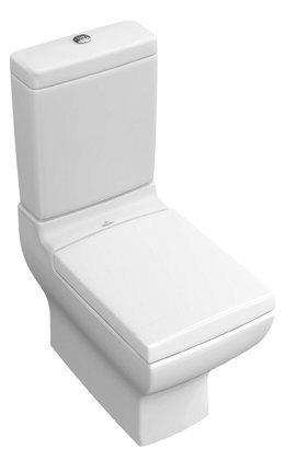 WC-istuin Ceramicplus-pinnoitteella Villeroy & Boch La Belle 5647 385x715 mm Valkoinen Alpin + istuinkansi + huuhtelusäiliö