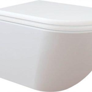 WC-istuin Creavit Free Rimless seinämalli valkoinen soft-close kansi