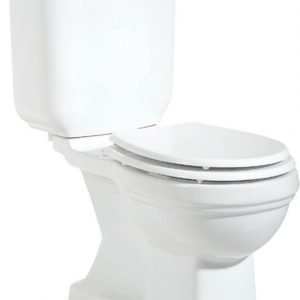 WC-istuin Creavit Klasik A Retro soft-close -kannella kaksoishuuhtelu S-lukko