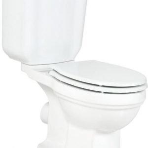 WC-istuin Creavit Klasik Retro soft-close -kannella kaksoishuuhtelu P-lukko