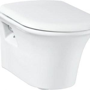 WC-istuin Creavit Moon seinämalli valkoinen soft-close kansi