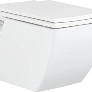 WC-istuin Creavit TP 324 seinämalli valkoinen soft-close kansi