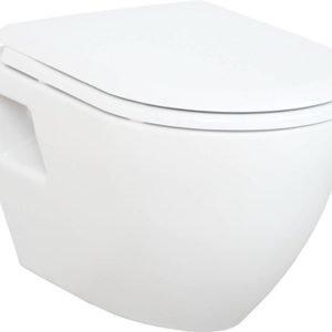 WC-istuin Creavit TP 325 00 seinämalli valkoinen soft-close kansi