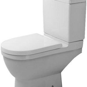 WC-istuin Duravit Starck 3 alaosa P/Q Liitäntä ilman kantta 390x655 mm