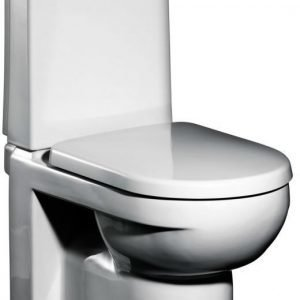 WC-istuin Gustavsberg ARTic GBG 4300 softclose-kannella S-lukko 3/6 l huuhtelu CeramicPlus valkoinen