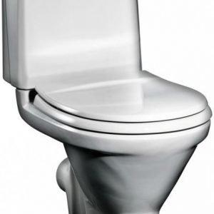 WC-istuin Gustavsberg GBG 398 lyhyt malli P-lukko 6 l huuhtelu valkoinen