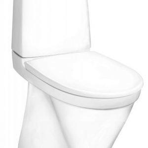 WC-istuin Gustavsberg Nautic 5546 3/6 L piilo-S-lukko valkoinen