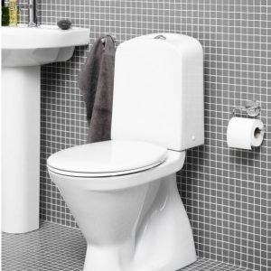 WC-istuin Gustavsberg Nordic 3 3500 piilo S-lukko kaksoishuuhtelu 3/6 l vakiokansi