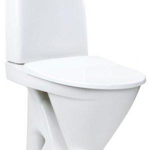 WC-istuin IDO Seven D 37217 S-lukko 2-huuhtelu valkoinen pehmeä kansi