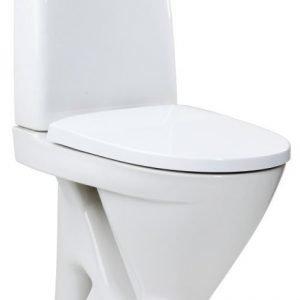 WC-istuin IDO Seven D 39217 S-lukko 2-huuhtelu valkoinen kova kansi