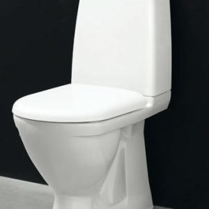 WC-istuin Svedbergs 9085 piiloviemärillä