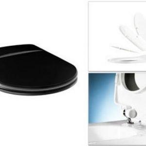 WC-kansi Gustavsberg Logic SoftClose rst-saranat musta