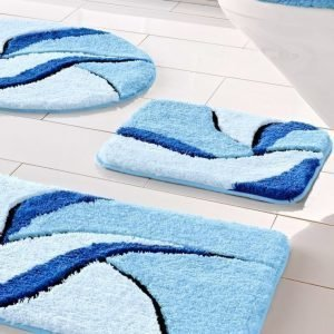 Webschatz Kylpyhuonesarja Sininen