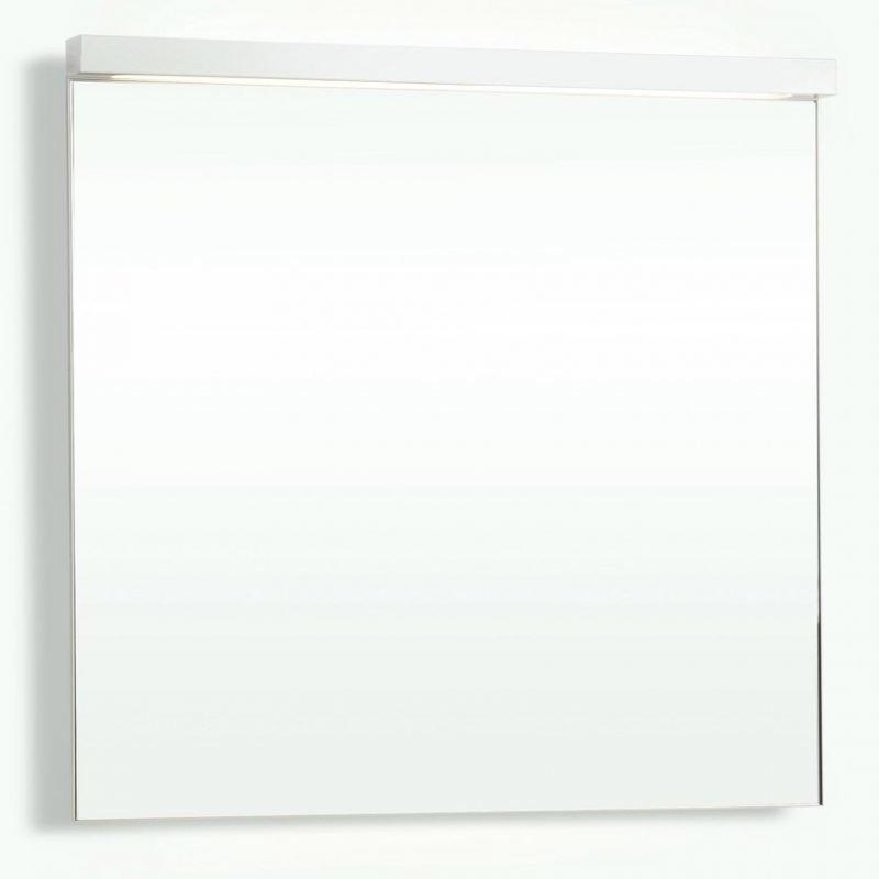 Yläosa Forma peili 80 ala- ja ylävalaistuksella valkoinen